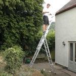 Преимущества стальной лестницы-стремянки