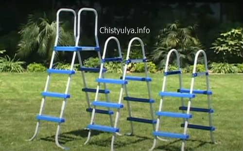 лестницы для каркасного бассейна