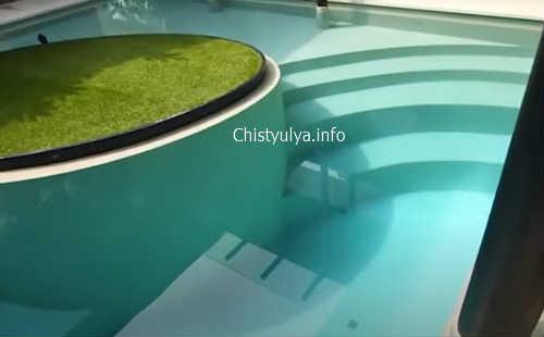 римская лестница для бассейна